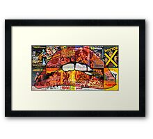 Rose Tint my Science Fiction / Double Feature Framed Print