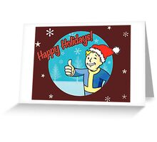 Fallout 4 Christmas  Greeting Card