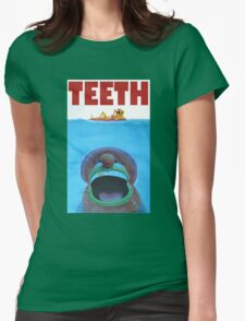 TEETH Womens Fitted T-Shirt