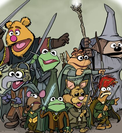 Fellowship of the Muppets Sticker