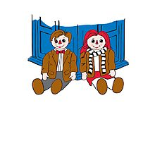 Raggedy Man and Amy-variant Photographic Print