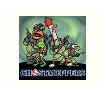 Ghostmuppers Art Print