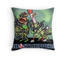 Ghostmuppers Throw Pillow
