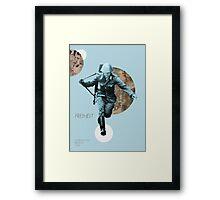 Freiheit.  Framed Print