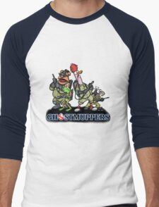 Ghostmuppers Men's Baseball ¾ T-Shirt