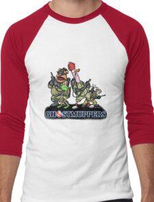 Ghostmuppers Men's Baseball ¾ T-Shirt