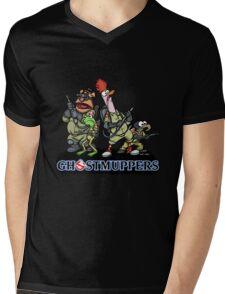Ghostmuppers Mens V-Neck T-Shirt