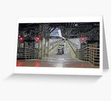 3 of 6:  The Commute:  Sleeping Behemoths Greeting Card