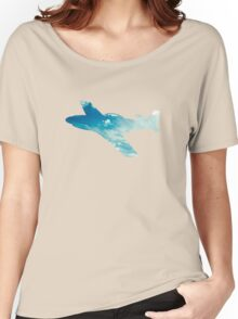 P-51 Mustang Skyview Women's Relaxed Fit T-Shirt