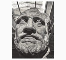Classic Greek Bust by GregorDyer