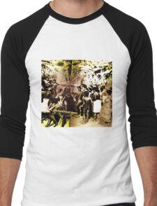 First Nations Butterfly Men's Baseball ¾ T-Shirt
