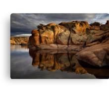 Rock Blocks Canvas Print