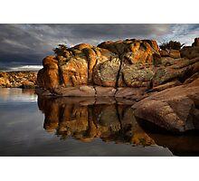 Rock Blocks Photographic Print