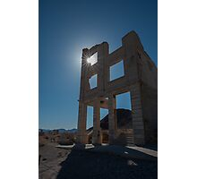 Ghost Town - Rhyolite Photographic Print