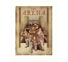 The Arena - Elder Scrolls IV Oblivion  Art Print