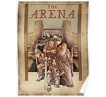 The Arena - Elder Scrolls IV Oblivion  Poster