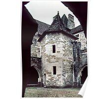 C10 buildings of Fenelon Abbey Carennac 19840227 0070  Poster