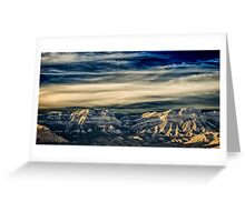 Fly Away With Me - Nevada Sunset Greeting Card
