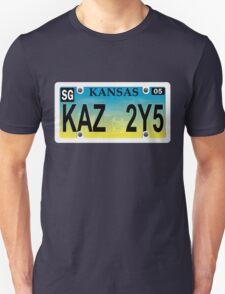 Supernatural License Plate Shirt T-Shirt