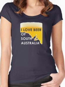 Love Beer SA Women's Fitted Scoop T-Shirt