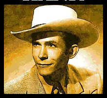 Country Singer, Hank Williams by jerry2011
