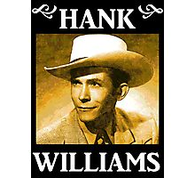 Country Singer, Hank Williams Photographic Print