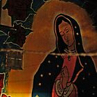 Virgin Guadalupe Mural, New Mexico by Derek Lowe