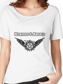 Hunters & Angels Shirt Women's Relaxed Fit T-Shirt