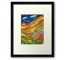 Night Landscape Framed Print