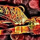Colourful Bridge! by weecritter
