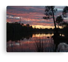 SummerSunSet Canvas Print