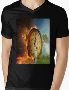 Grand Central Terminal of Death Mens V-Neck T-Shirt