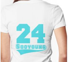 Sooyoung - 24 Womens Fitted T-Shirt