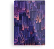 Midnight City Metal Print