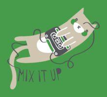 Mixtape Kitty One Piece - Short Sleeve