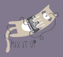 Mixtape Kitty Kids Tee