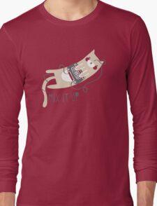 Mixtape Kitty Long Sleeve T-Shirt
