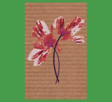 Hand print flower Baby Tee