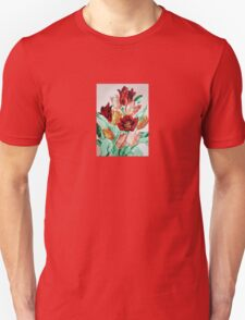 A Beautifully Bold Floral Bouquet of Tulips Unisex T-Shirt