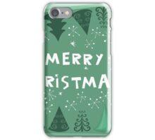 merry xmas iPhone Case/Skin