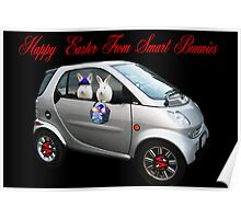 ☆.¸¸.•´¯`♥SMART BUNNIES WISHING ALL A HAPPY EASTER☆.¸¸.•´¯`♥  Poster