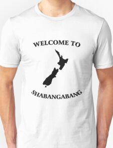 Welcome to Shabangabang T-Shirt