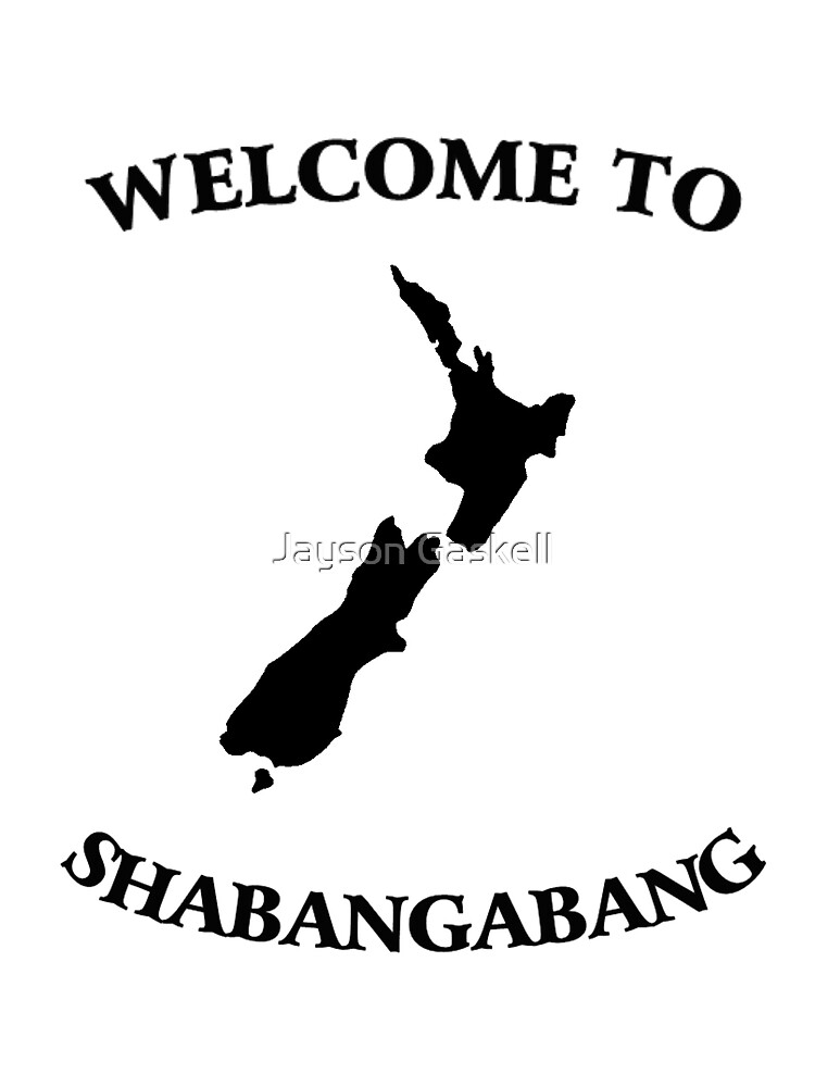 Welcome to Shabangabang by Jayson Gaskell
