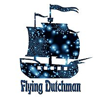 Flying Dutchman ship Photographic Print