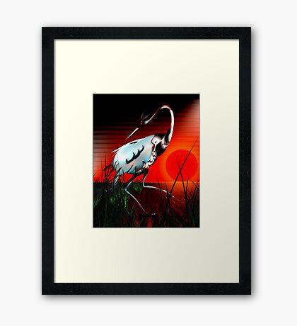 Lux Framed Print