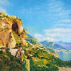 Amalfi Cave Vineyard by Dai Wynn
