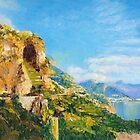 Amalfi Cave Vineyard by Dai Wynn