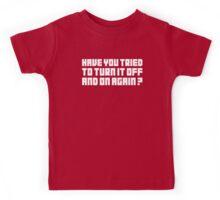 Turn It Off Kids Tee