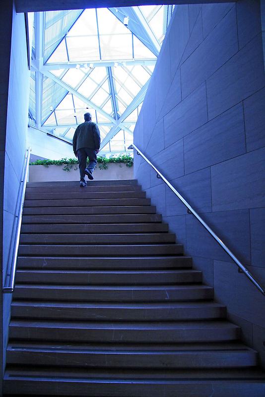 A Blue Climb by Cora Wandel