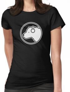 Polar Bear DJ Womens Fitted T-Shirt